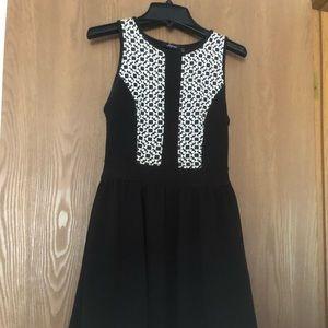 Junior dress - XS Black
